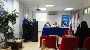 Dr Ashraf Elsafty MBA student defense